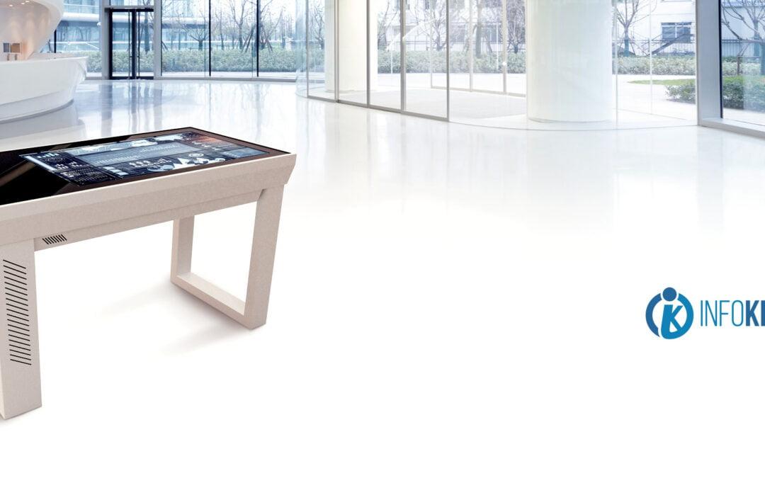 Innowacyjny i multimedialny stół dotykowy OptiTouch MEDtable w szerokiej gamie zastosowań